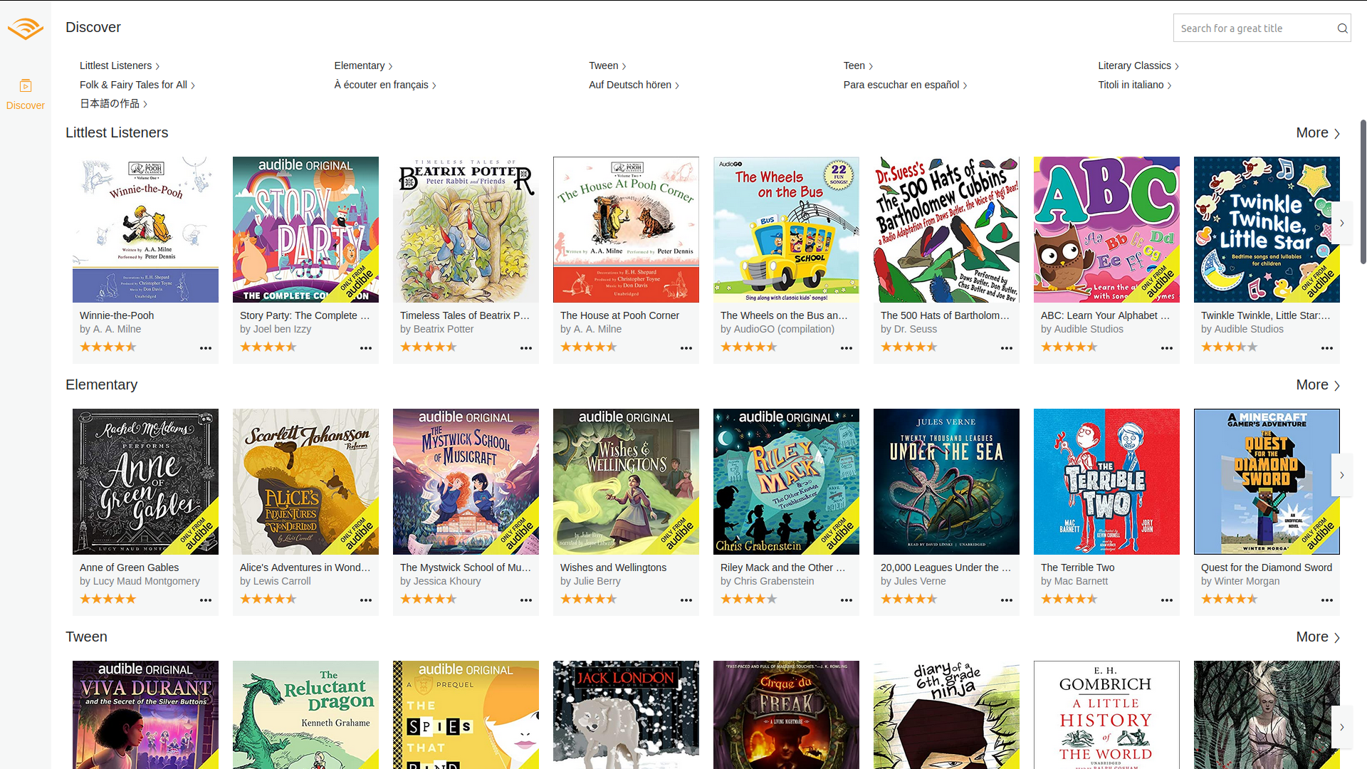 Audible Gives Away Free Audiobooks to Children, Teenagers | Digital Trends